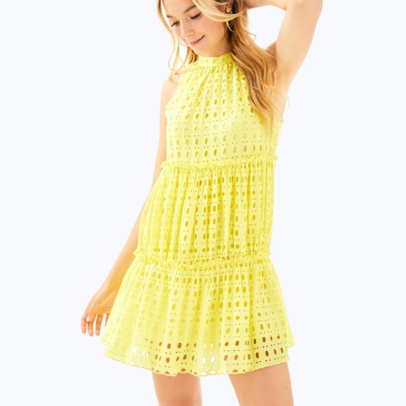 af8d11b1dac Lilly pulitzer Indira dress Lilly s lemon